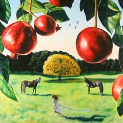 The Garden Of The Golden Apple Tree,MARK OBERLIN