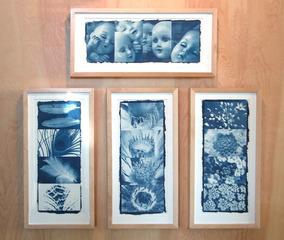 Cidne\'s Cyanotype Collages,