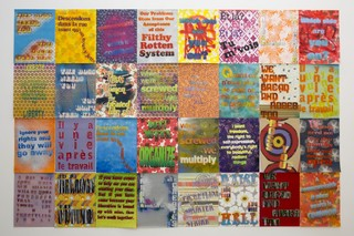 Workers' Rights Posters, Andrea Bowers