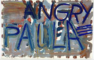 Angry Paula, Louise Fishman