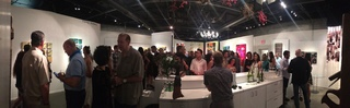 4th Annual Texas Artist Showcase 2015, opening reception