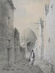 Old city of Bukhara, Ulughbek Mukhamedov