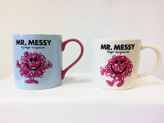 \'Mr Messy\', littlewhitehead