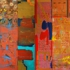 Amitabh_sengupta__inscriptions_10_diptych_acrylic_on_canvas__3x6_ft