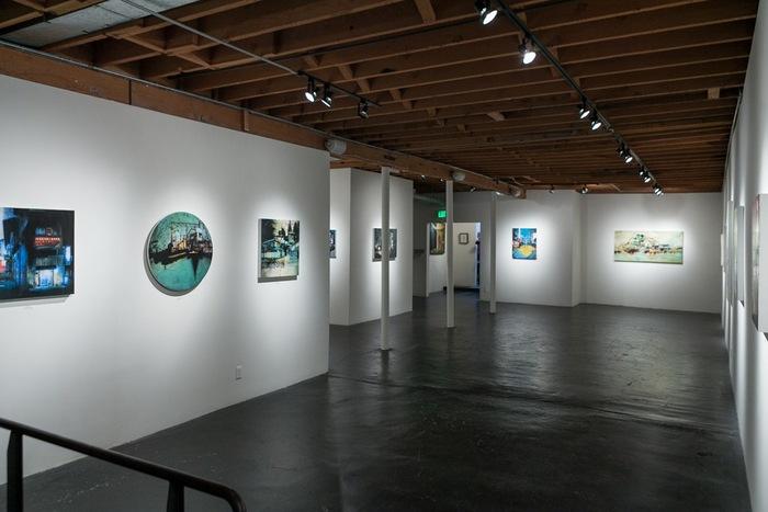 LIZ BRIZZI's Urban Landscapes at THINKSPACE | ArtSlant